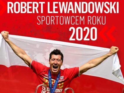 Robert Lewandowski Sportowcem Roku 2020 w Polsce! Zaskakujące miejsce Dawida Kubackiego!