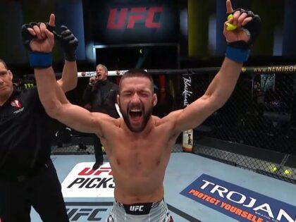 Wielka walka Gamrota w UFC! Były mistrz KSW podbija Amerykę! Zdobył drugi bonus z rzędu!